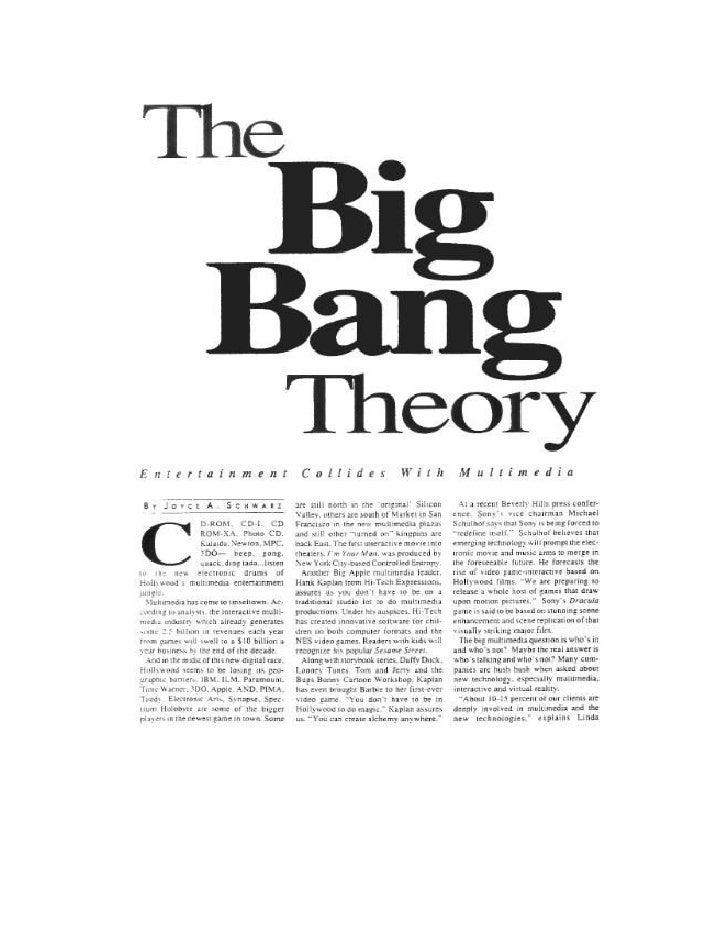 Early 1992 article on Digital Media by Joyce Schwarz