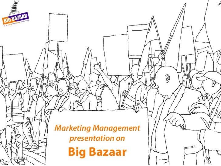 4 P's followed at Big Bazaar