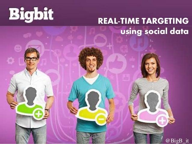 REAL-TIME TARGETING using social data @BigB_it