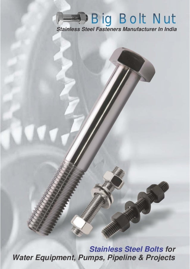 Large Nuts And Bolts : Big bolt nut stainless steel bolts and nuts