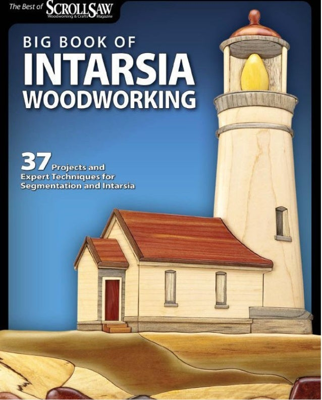 Big book and intarsia Woodworking
