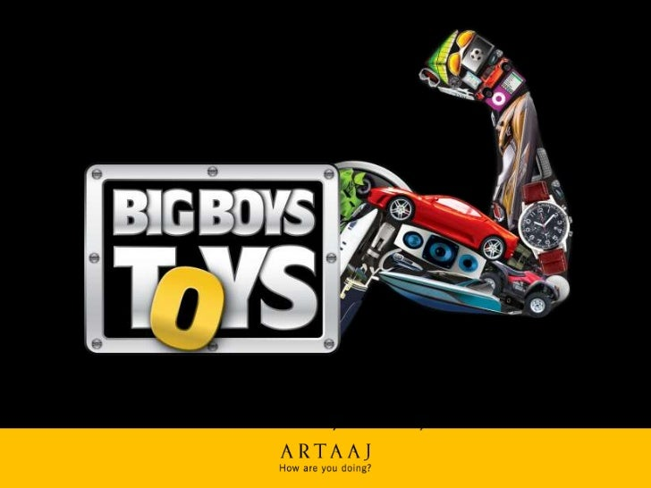 Boys Toys Big Game : Big boys toys show
