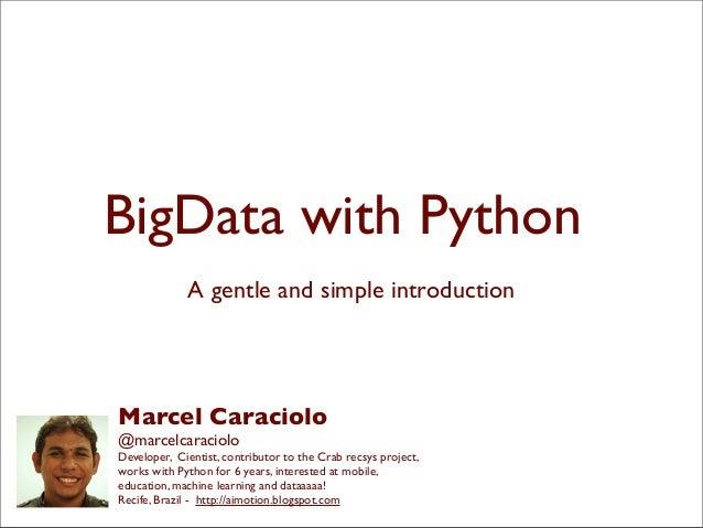 Big Data com Python