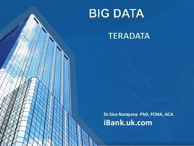 BIG DATA - TERADATA