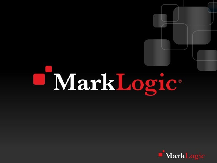 Big Data Analytics with MarkLogic
