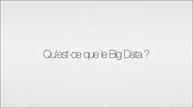 BigData et Hadoop