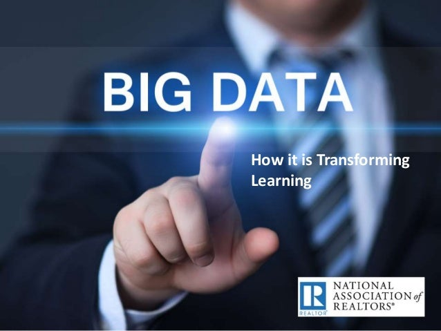 Big data Presentation from REALTOR Party Convention