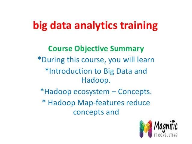 Big data analytics training usa