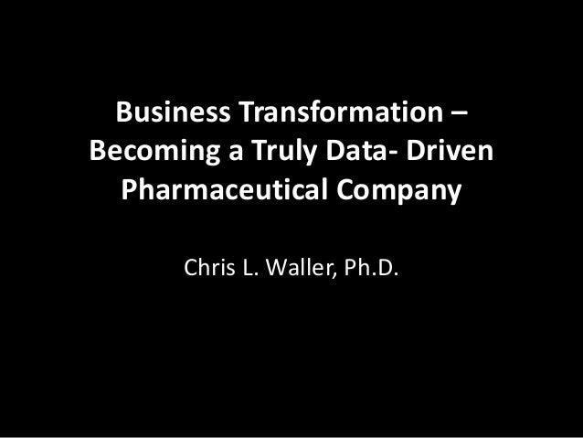 How to Create a Big Data Culture in Pharma