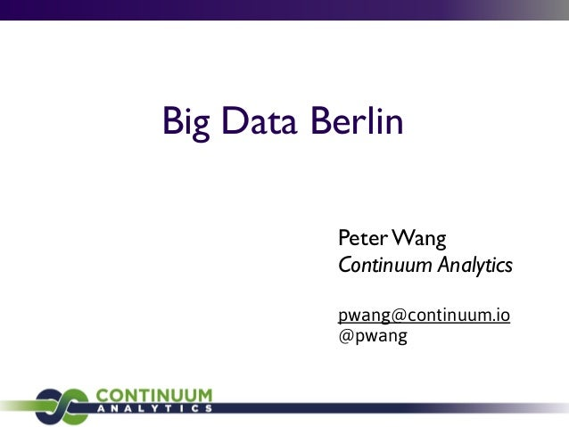 Big data berlin