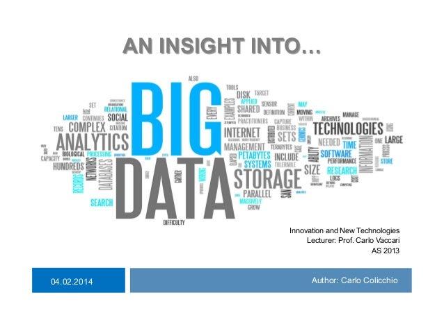 Carlo Colicchio: Big Data for business