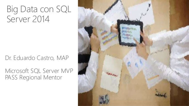 Big Data con SQL  Server 2014  Dr. Eduardo Castro, MAP  Microsoft SQL Server MVP  PASS Regional Mentor