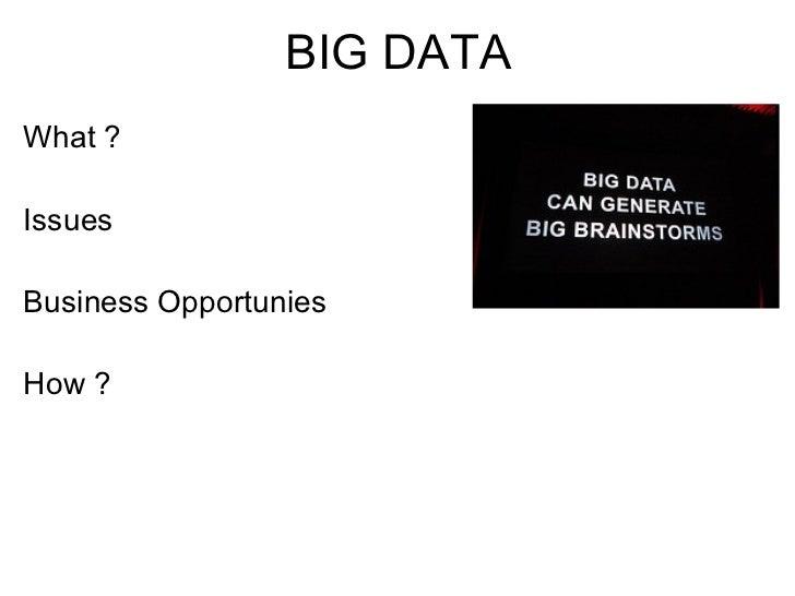 Big data datacrunch