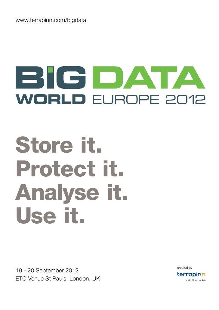 Big data europe 2012 a4 12 p brochure screen spread 2
