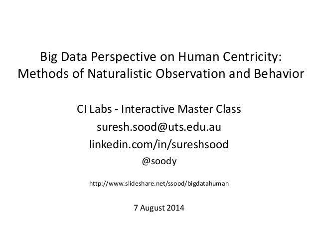 CI Labs - Interactive Master Class suresh.sood@uts.edu.au linkedin.com/in/sureshsood @soody http://www.slideshare.net/ssoo...
