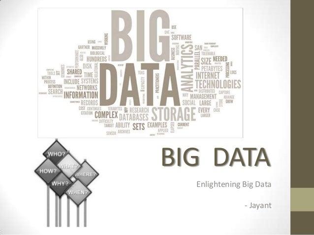 Big Data & Hadoop Introduction