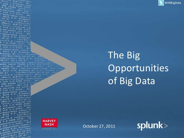 Harvey Nash USA Webinar: The Big Opportunity of Big Data