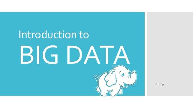 Big data ppt