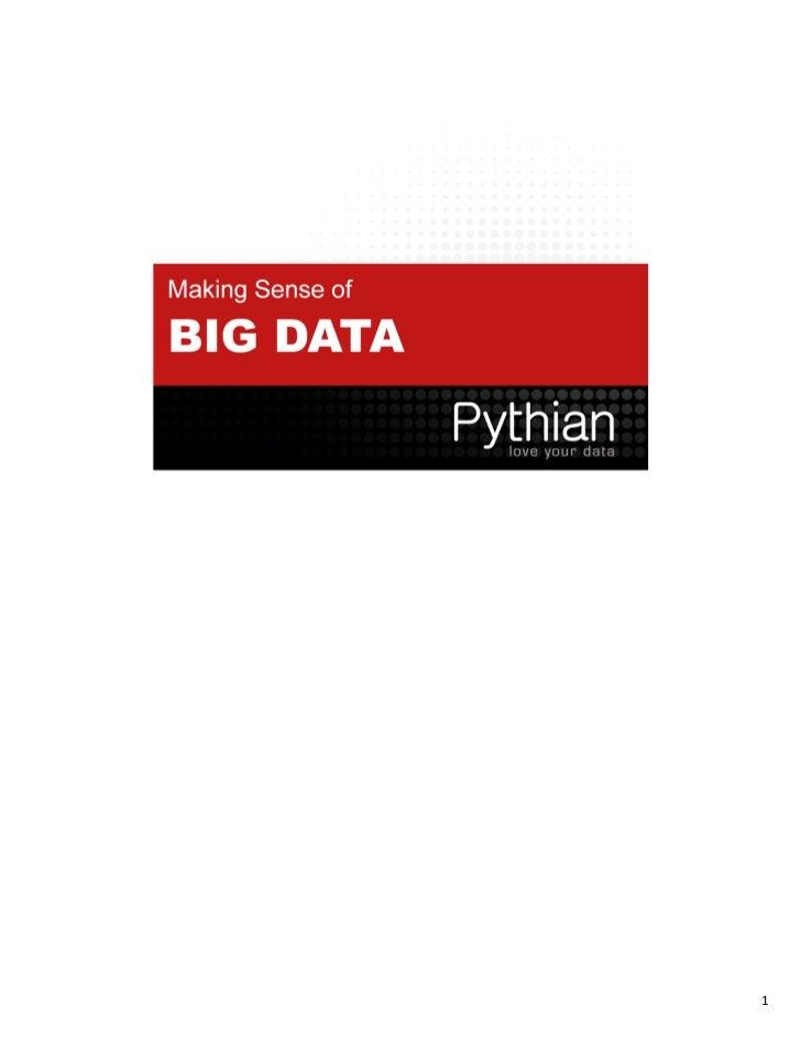 Big data rmoug