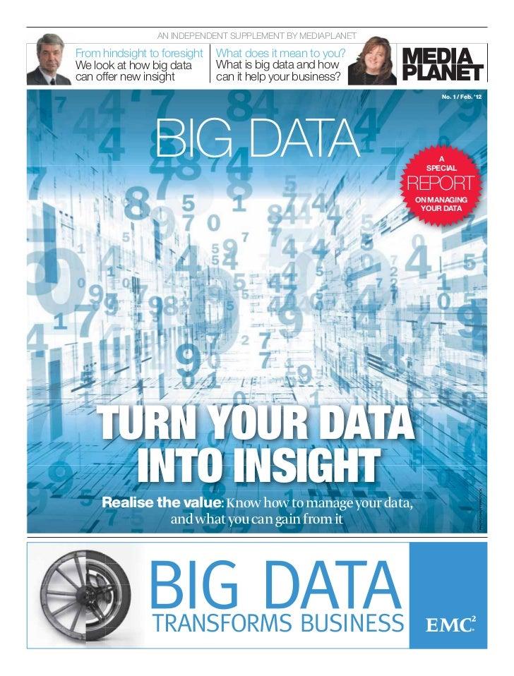 Big Data supplement - City AM