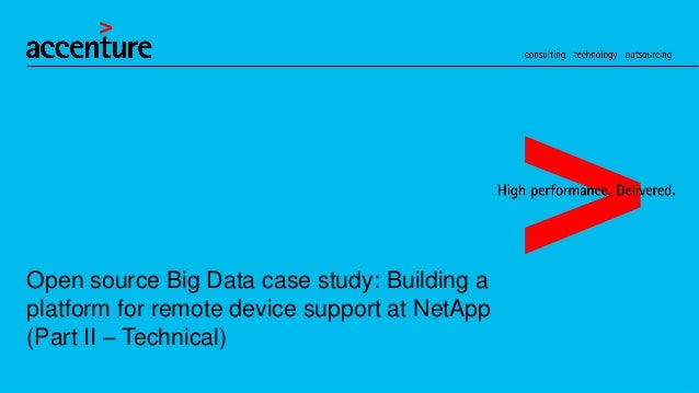 OSC2012: Big Data Using Open Source: Netapp Project - Technical