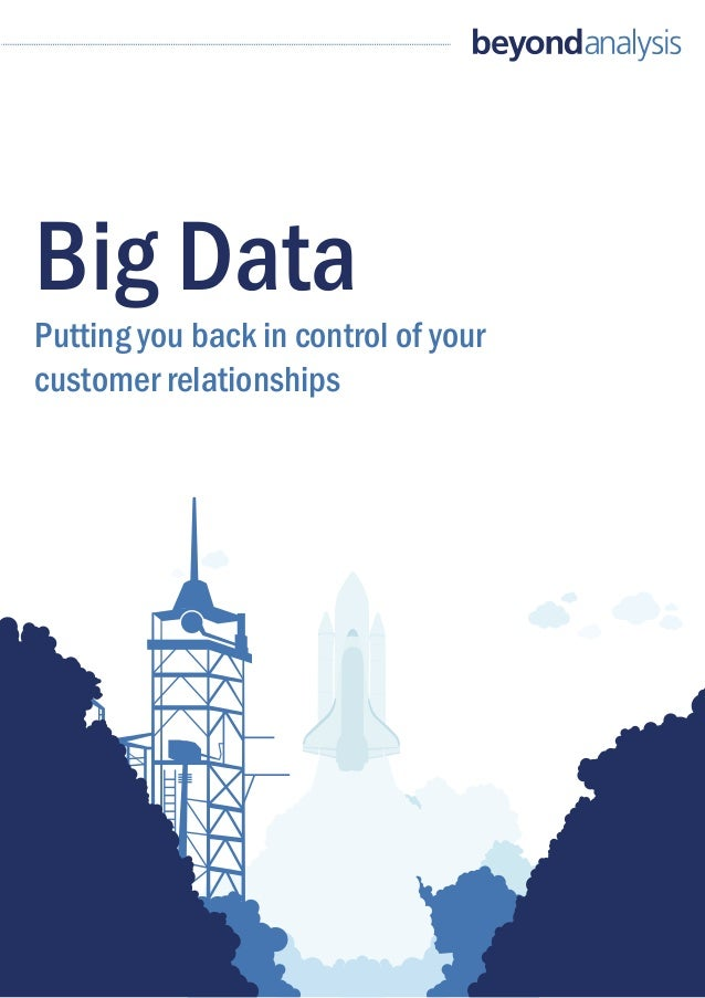 Beyond Analysis: Big data touchpaper Dec 2012