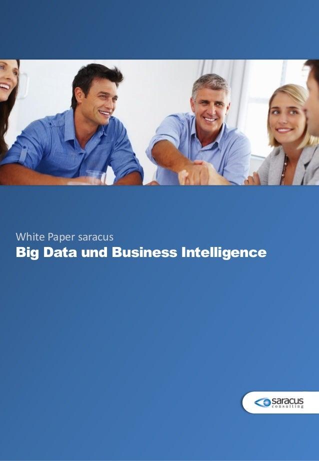 White Paper saracus Big Data und Business Intelligence