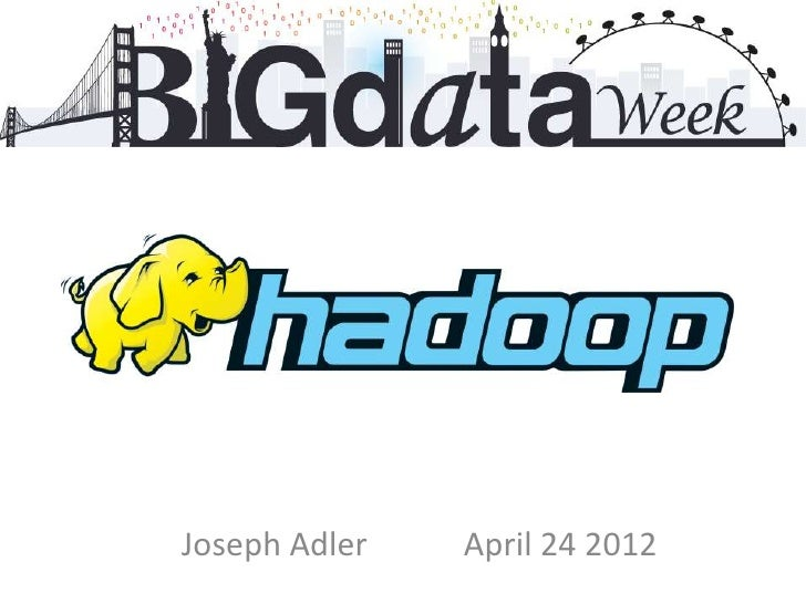 Big data week presentation
