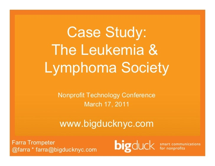 lymphoma case study The inguinal lymph node was removed and a diagnosis of stage ii lymphoma was made 1 what causes non-hodgkin lymphoma, and are there any risk factors -lymphoma.