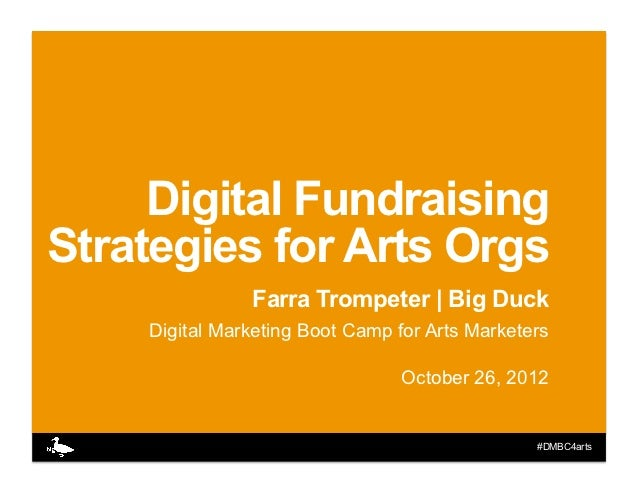 Digital Fundraising for Arts