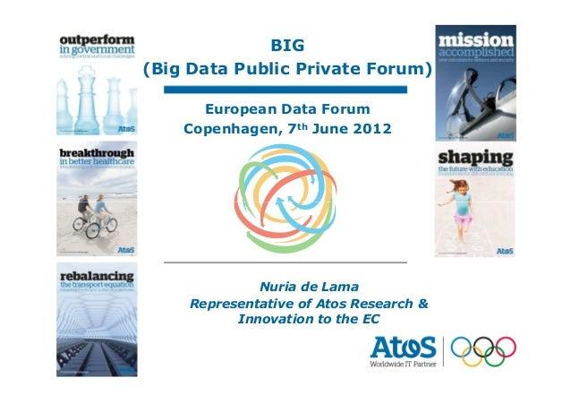 Big Data Public-Private Forum_European Data Forum 2012
