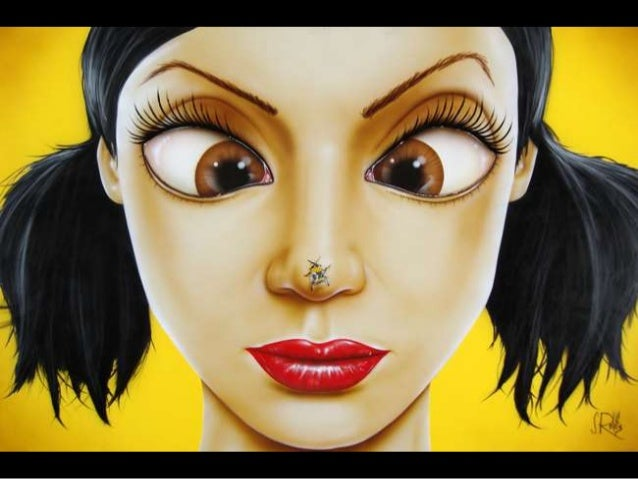 Big Eyes- Paintings by Scott Rohlfs