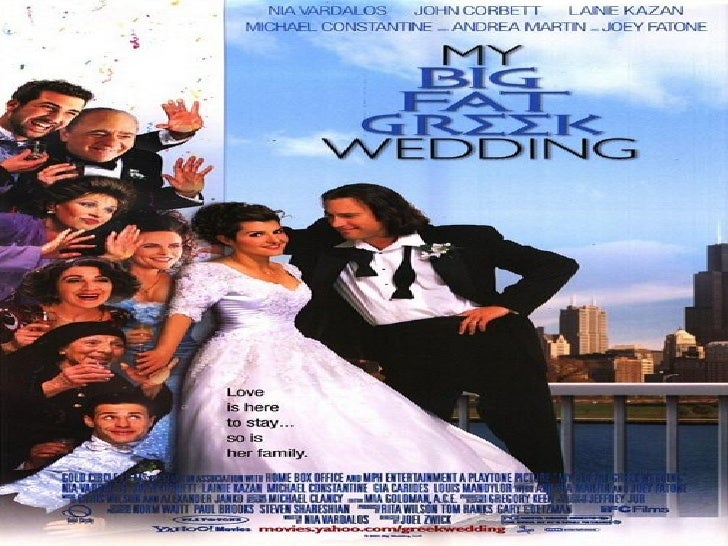 "my big fat greek wedding ethnocentrism ""my big fat greek wedding"" short summary this is a story about a plain young woman who transformed herself into a beautiful young woman, her name is toula portokalos."