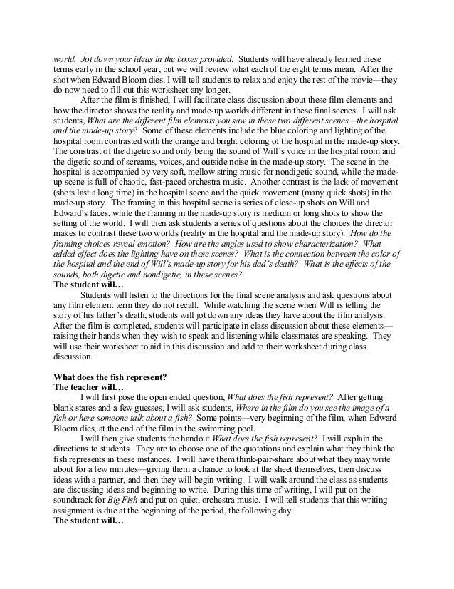 Movie essay topics