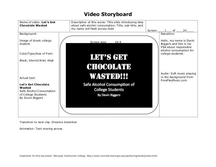 EDET 603 StoryBoard