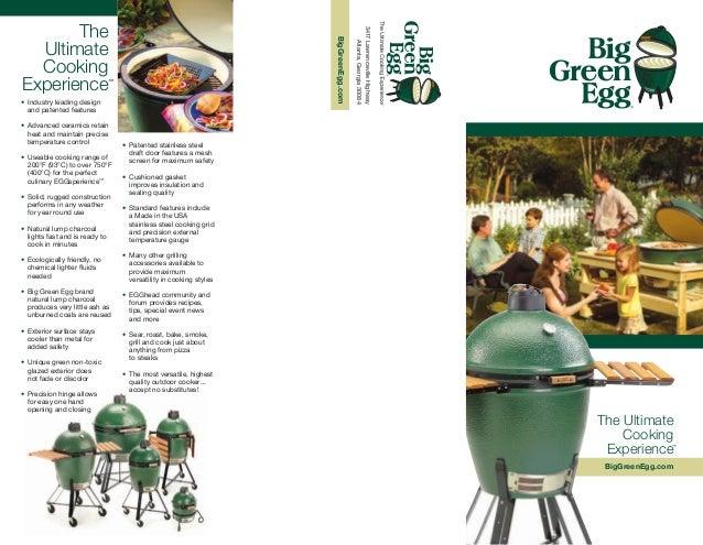 Big Green Egg Brochure
