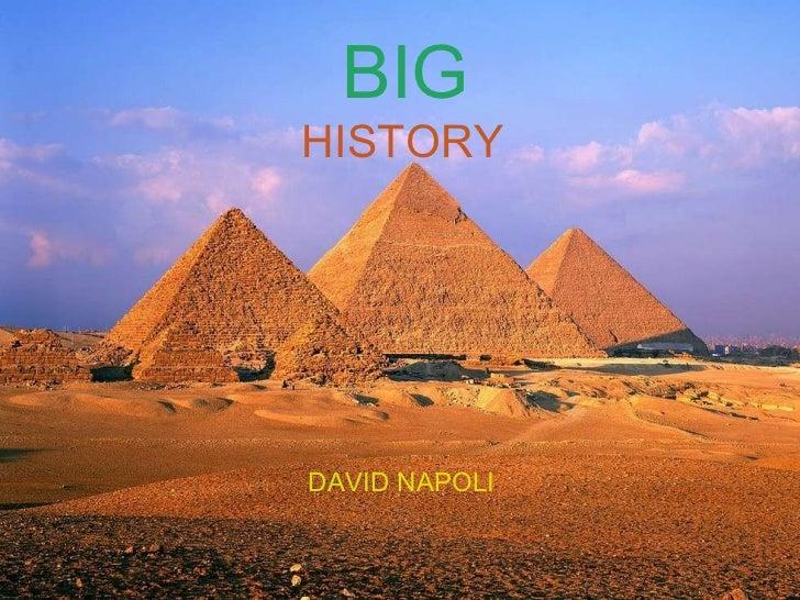 BIG  HISTORY DAVID NAPOLI