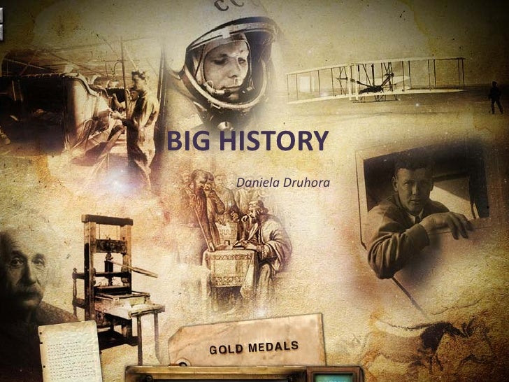 BIG HISTORY Big History     Daniela DruhoraDaniela Druhora