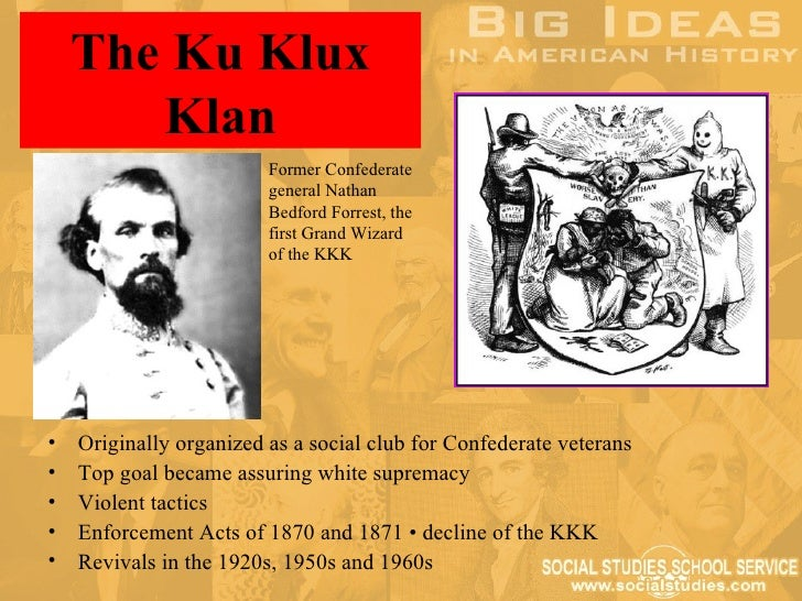 a history of the ku klux klan a racisr social club International keystone knights of the ku klux klan  vinlanders social club   as the marchers in the images from the racist and violent rally in charlottesville,  va, become identified,  campaign for radical truth in history.
