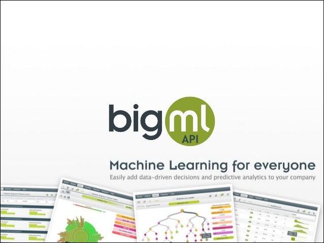 BigML API Webinar - March 2014