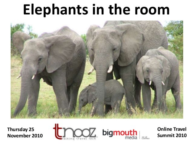 Elephants in the Room - Challenges and Threats in the Travel Industry