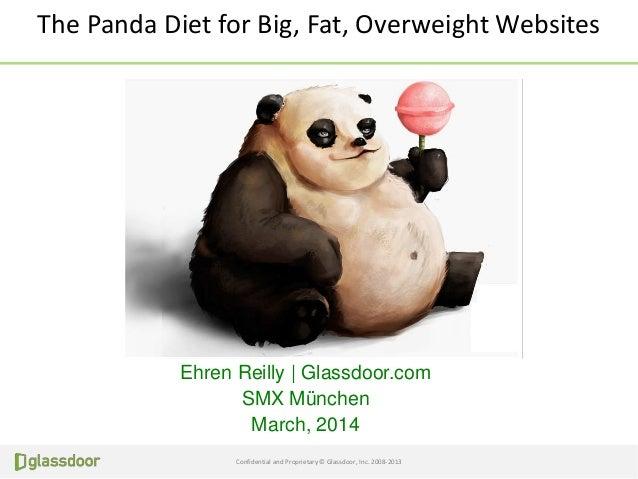 Panda Diet for Overweight Websites