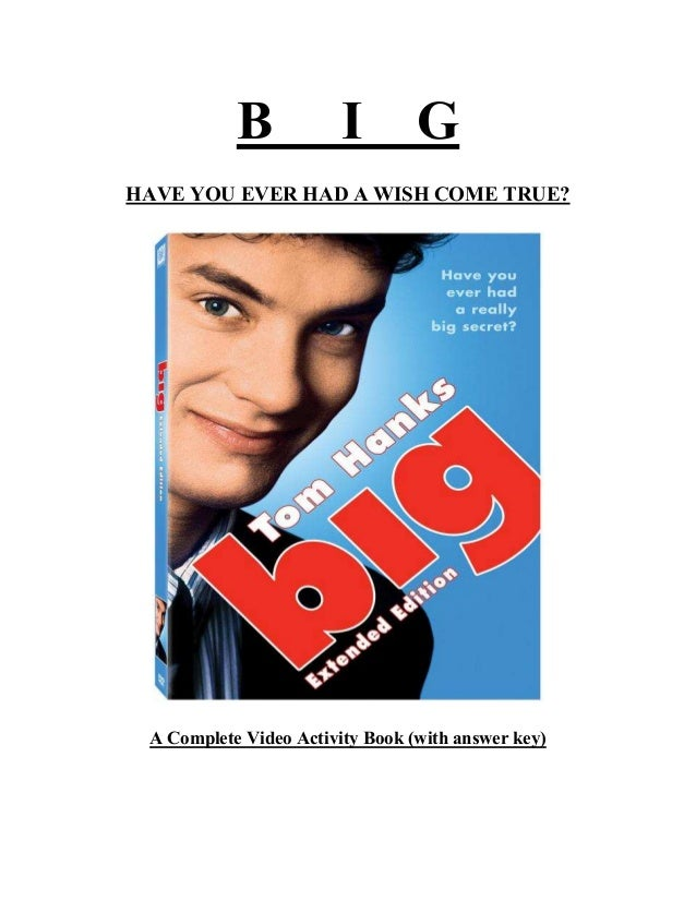 Big the movie activity book