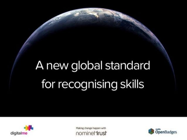 Open Badges - A new global standard for recognising skills - First Big Think Event