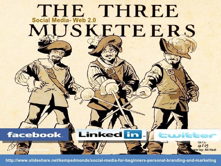 Big three social media
