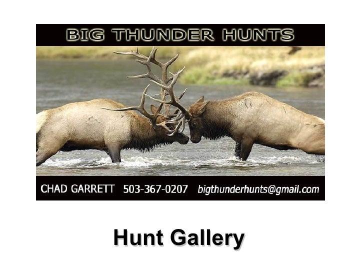 Big Thunder Hunt