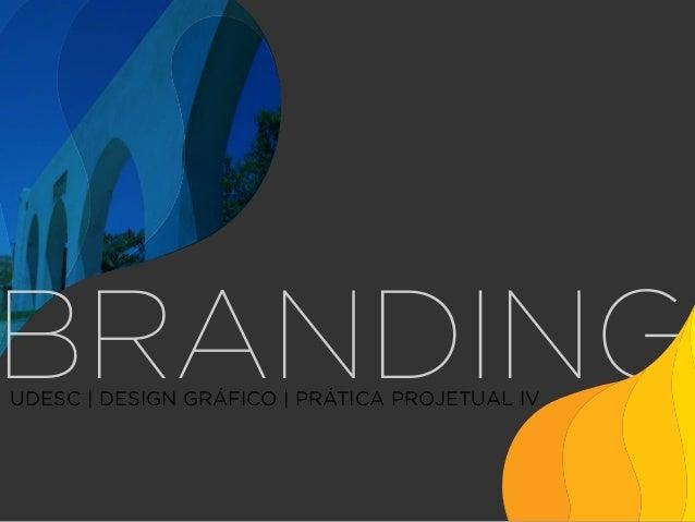 BRANDING UDESC | DESIGN GRÁFICO | PRÁTICA PROJETUAL IV