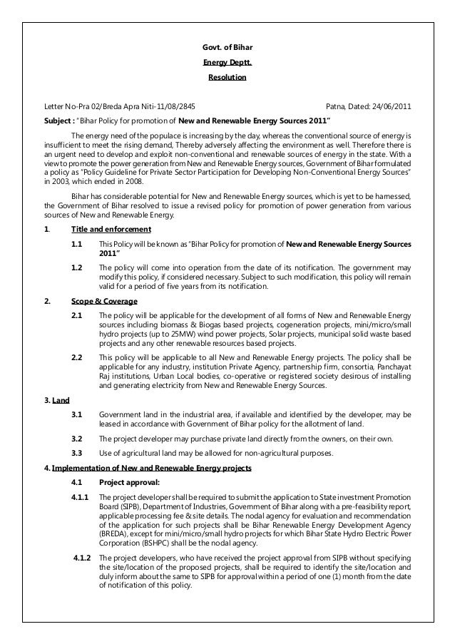 essay on new and renewable sources of energy