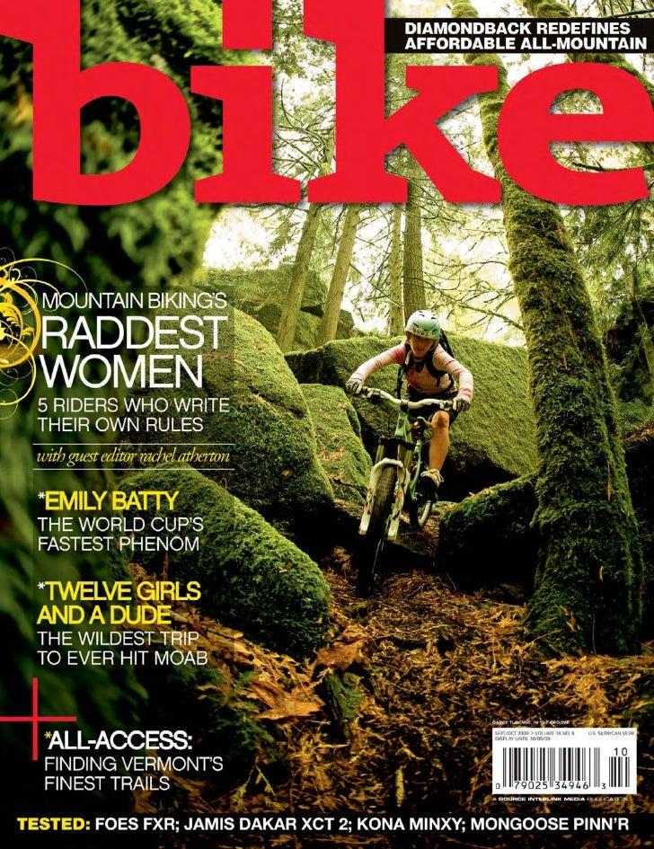 Bike magazine octubre