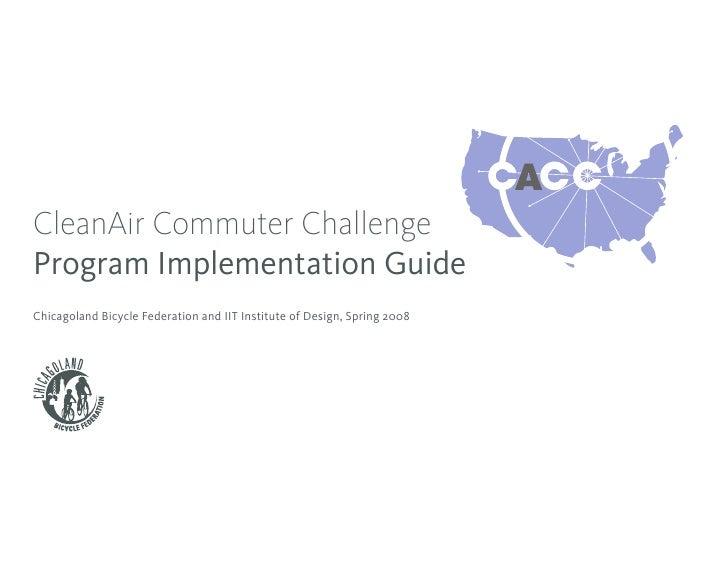 CleanAir Commuter Challenge